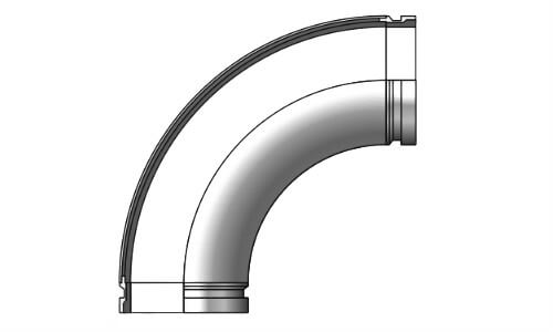 Twin Wall Elbow SK125/5