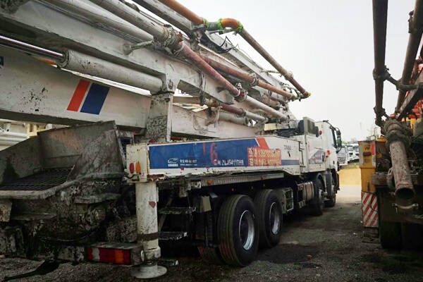 zoomlion used concrete boom truck