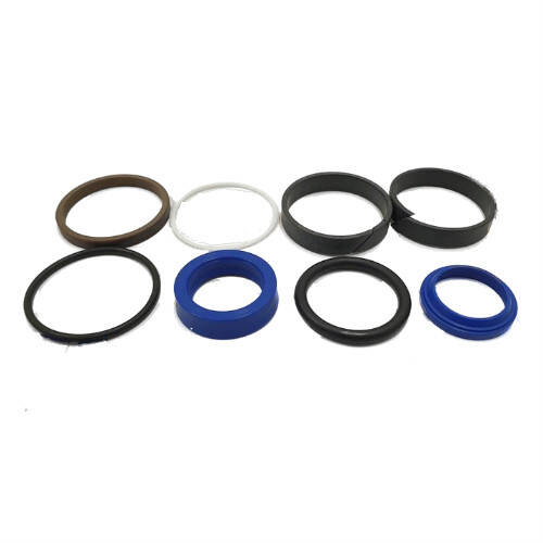 Set of seals for the plunger hydraulic cylinder 160-50 / 28, 2 outlets, 086677004
